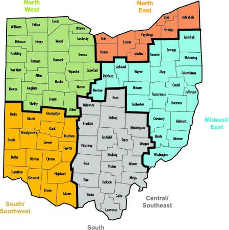 STARS District Map