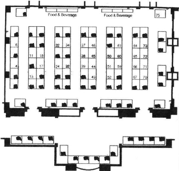 Trade Show Floor Plan