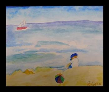 Jane Titus - Boy by the Beach