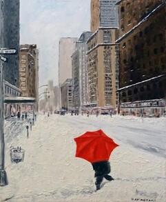 Ray Abrams - Red Umbrella